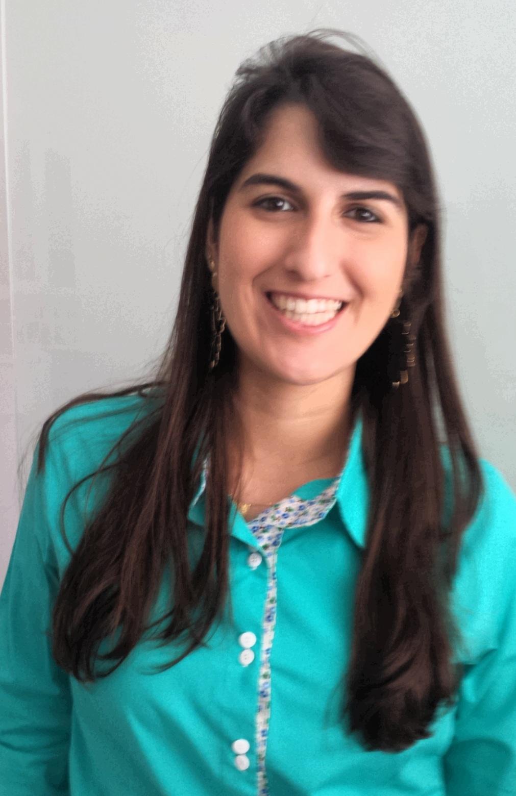 Andressa Saraiva - 5º lugar geral e 1º lugar nas discursivas do TCU
