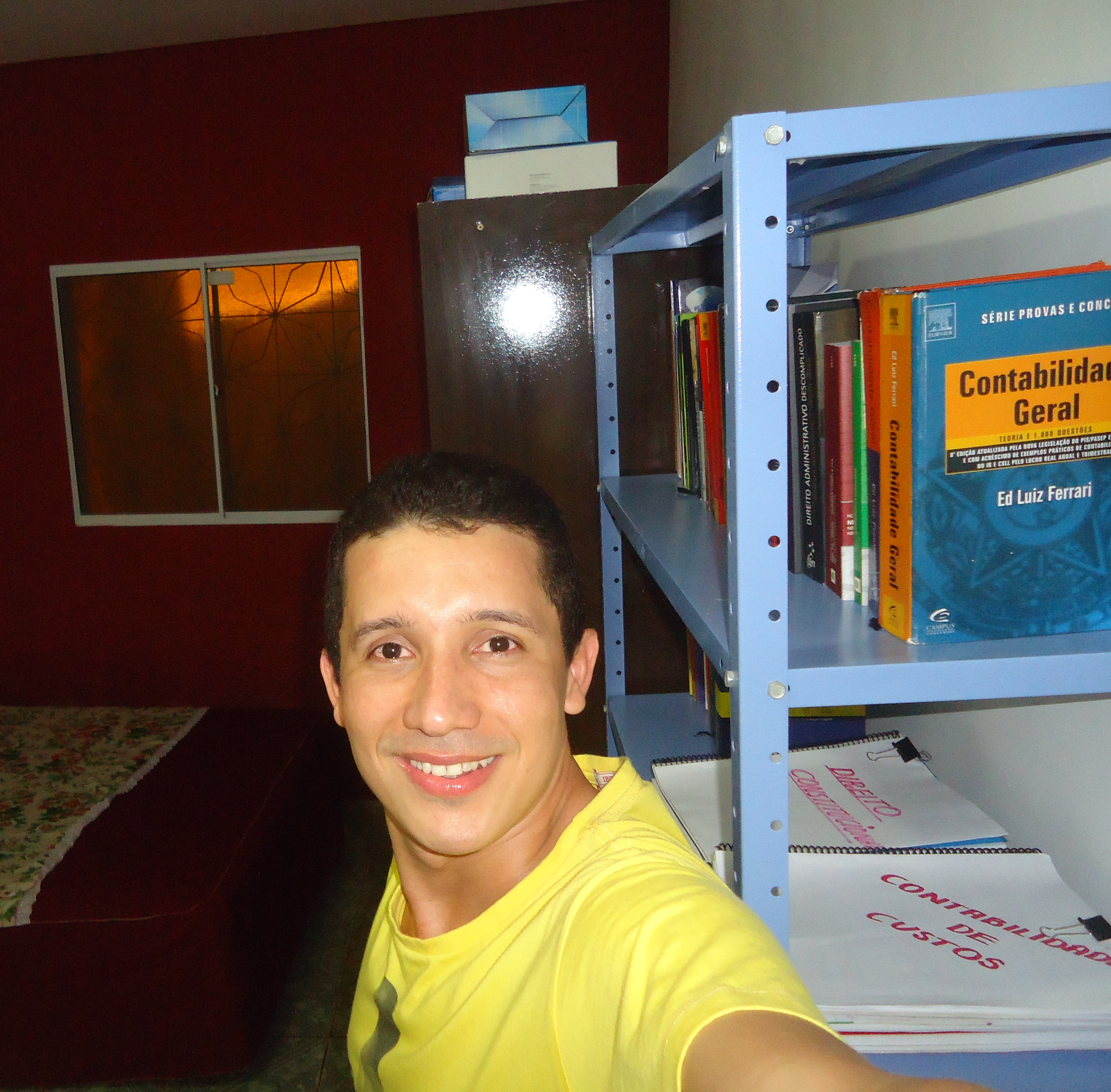 Sebastião Silva - Aprovado em 8º lugar no concurso de Auditor-Controlador da CGE-MA