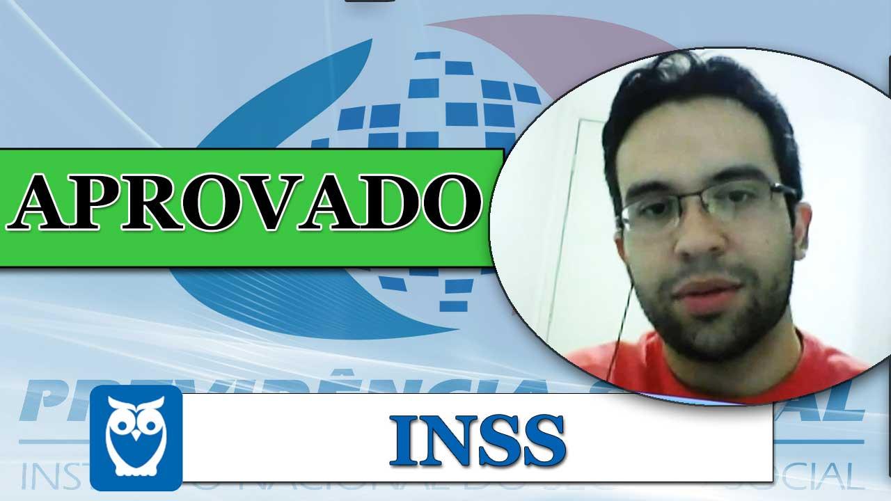 ENTREVISTA EM VÍDEO: Danilo Martins - Aprovado no concurso INSS/2012