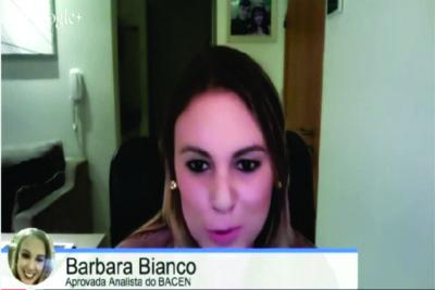 ENTREVISTA EM VÍDEO: Bárbara Bianco - Aprovada no concurso do Banco Central para o cargo de analista