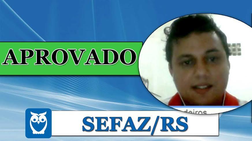 ENTREVISTA EM VÍDEO: Fernando Medeiros - Aprovado no concurso SEFAZ/RS para o cargo de Técnico Tributário