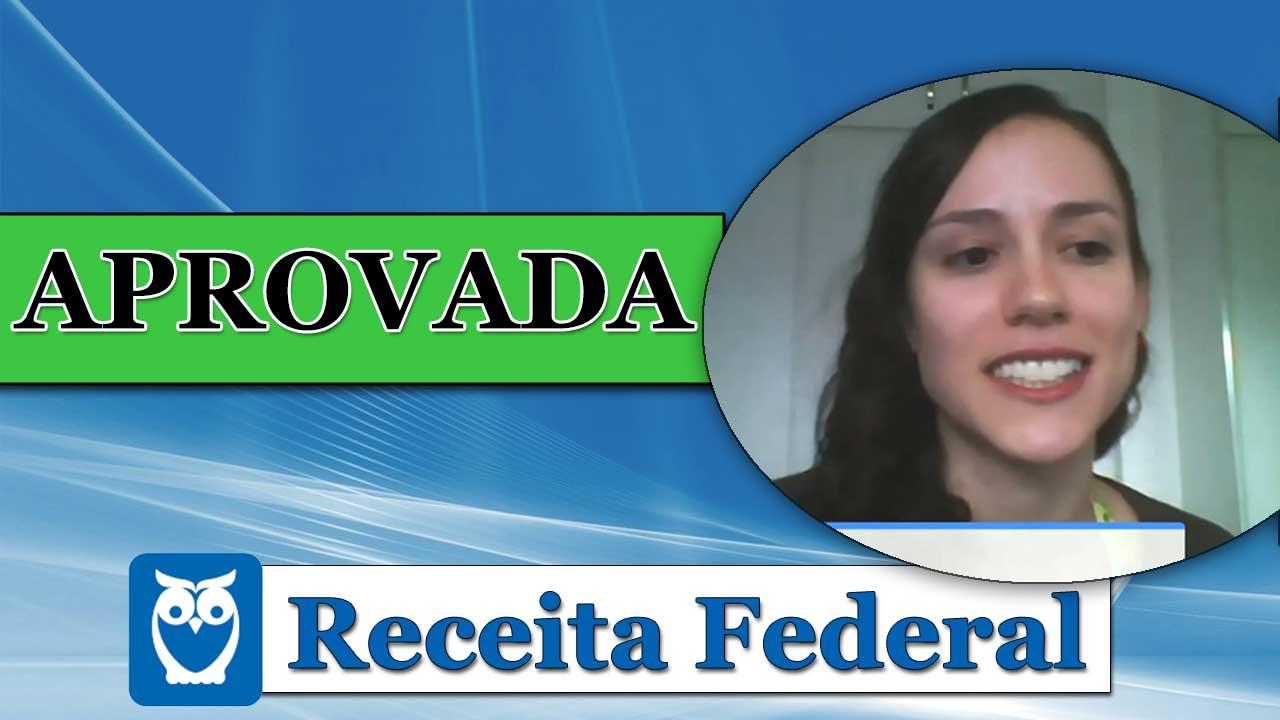 ENTREVISTA EM VÍDEO: Sara Pires - Aprovada no concurso da Receita Federal para o cargo de Auditor Fiscal