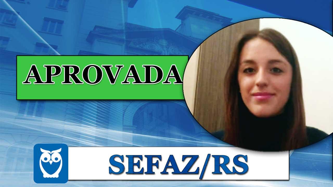 ENTREVISTA EM VÍDEO: Aline Martins - Aprovada no concurso da SEFAZ/RS para o cargo de Auditor da Receita Estadual