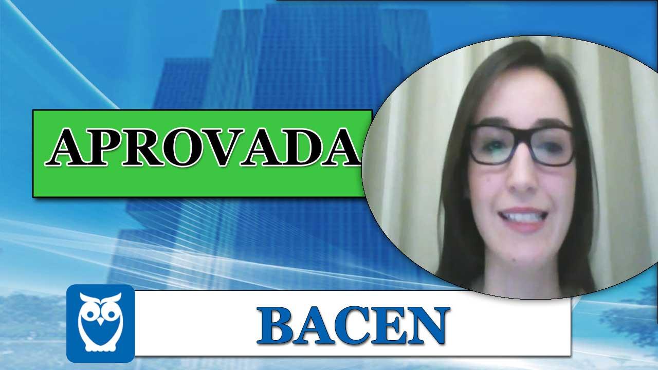 ENTREVISTA EM VÍDEO: Gabriela Guimarães - Aprovada no concurso do BACEN para o cargo de Analista