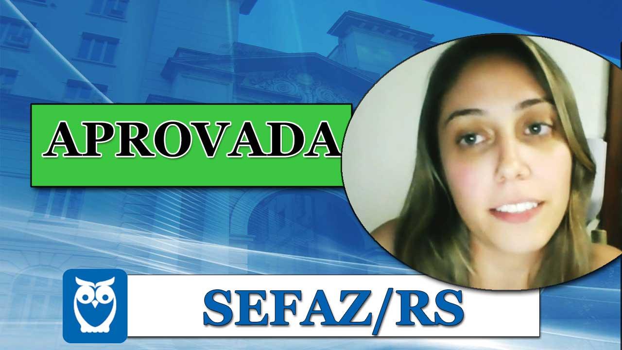 ENTREVISTA EM VÍDEO: Maria Angélica - Aprovada no concurso da SEFAZ/RS para o cargo de Auditor