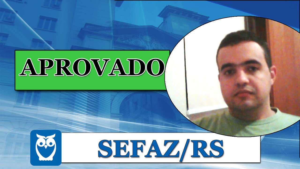 ENTREVISTA EM VÍDEO: Felipe Rodrigues - Aprovado no concurso da SEFAZ/RS para o cargo de Técnico Tributário