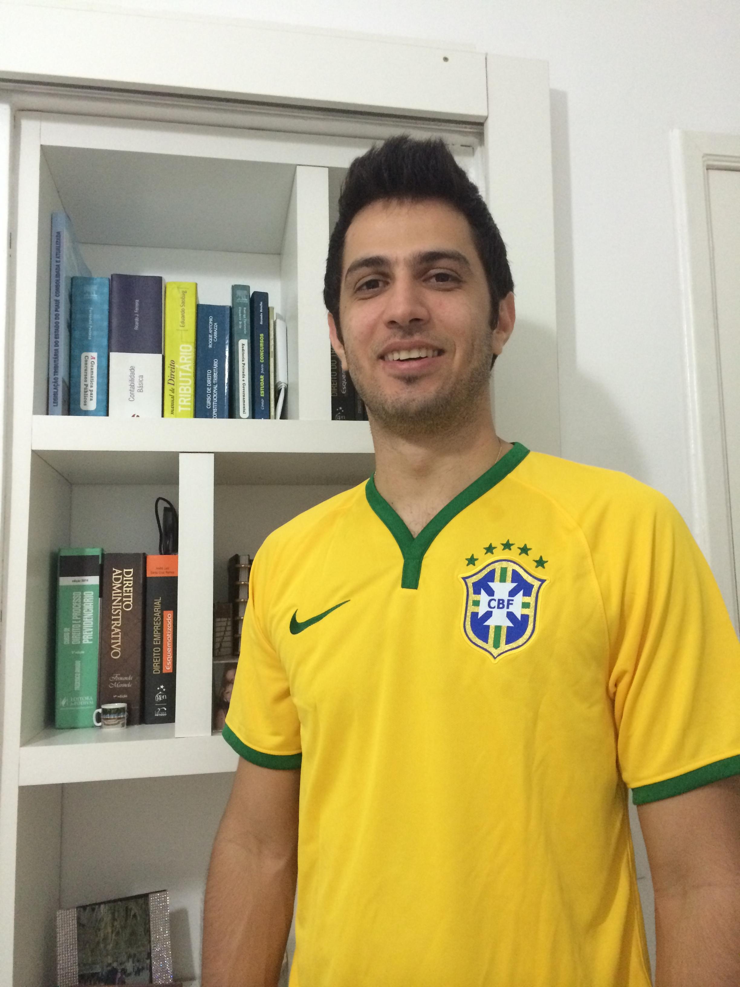 Feliphe Araujo - Aprovado no concurso para Auditor Fiscal da Receita Federal do Brasil