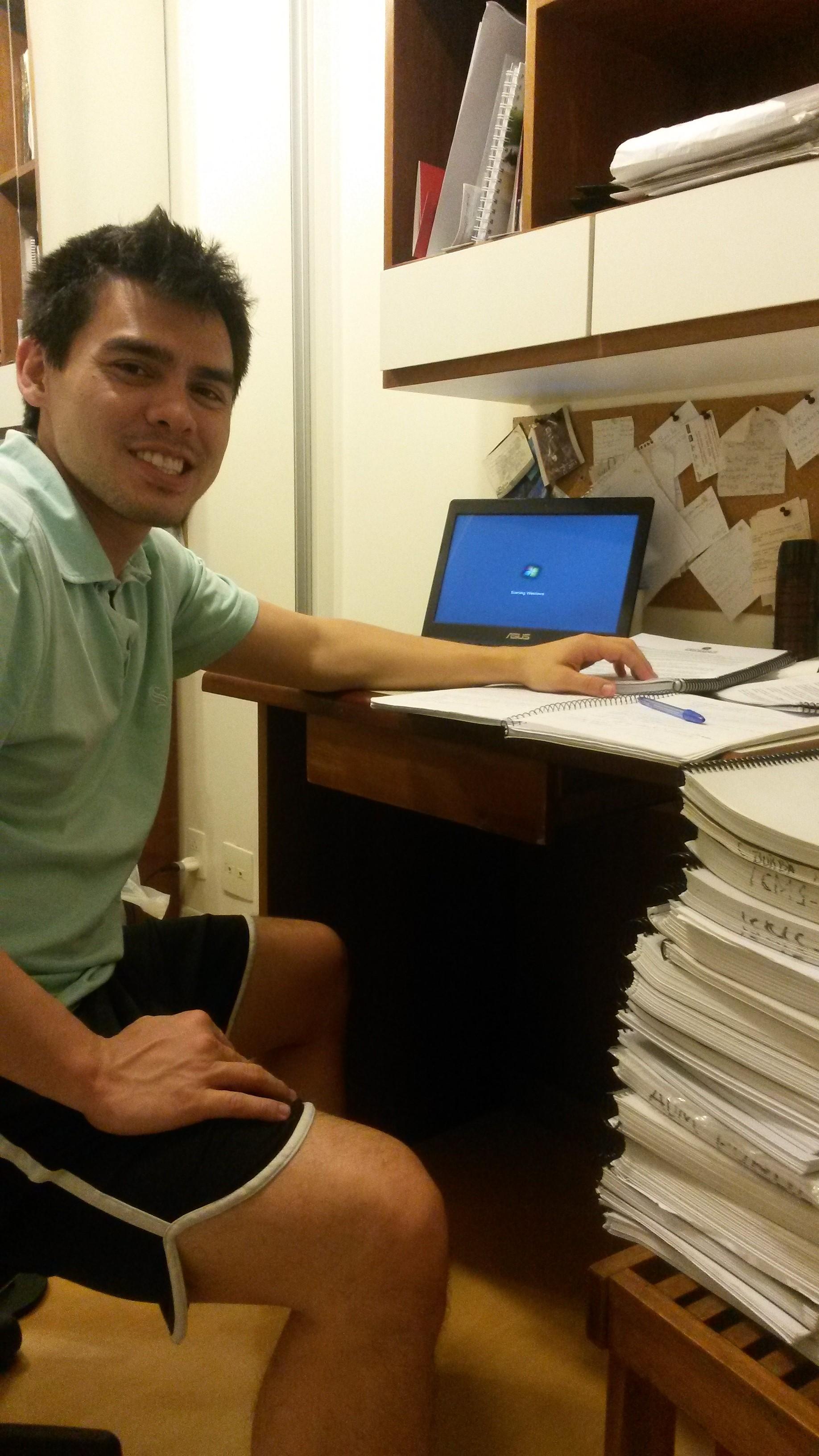 David Uenaka - Aprovado no concurso de Auditor Fiscal da SEFAZ/RS 2014