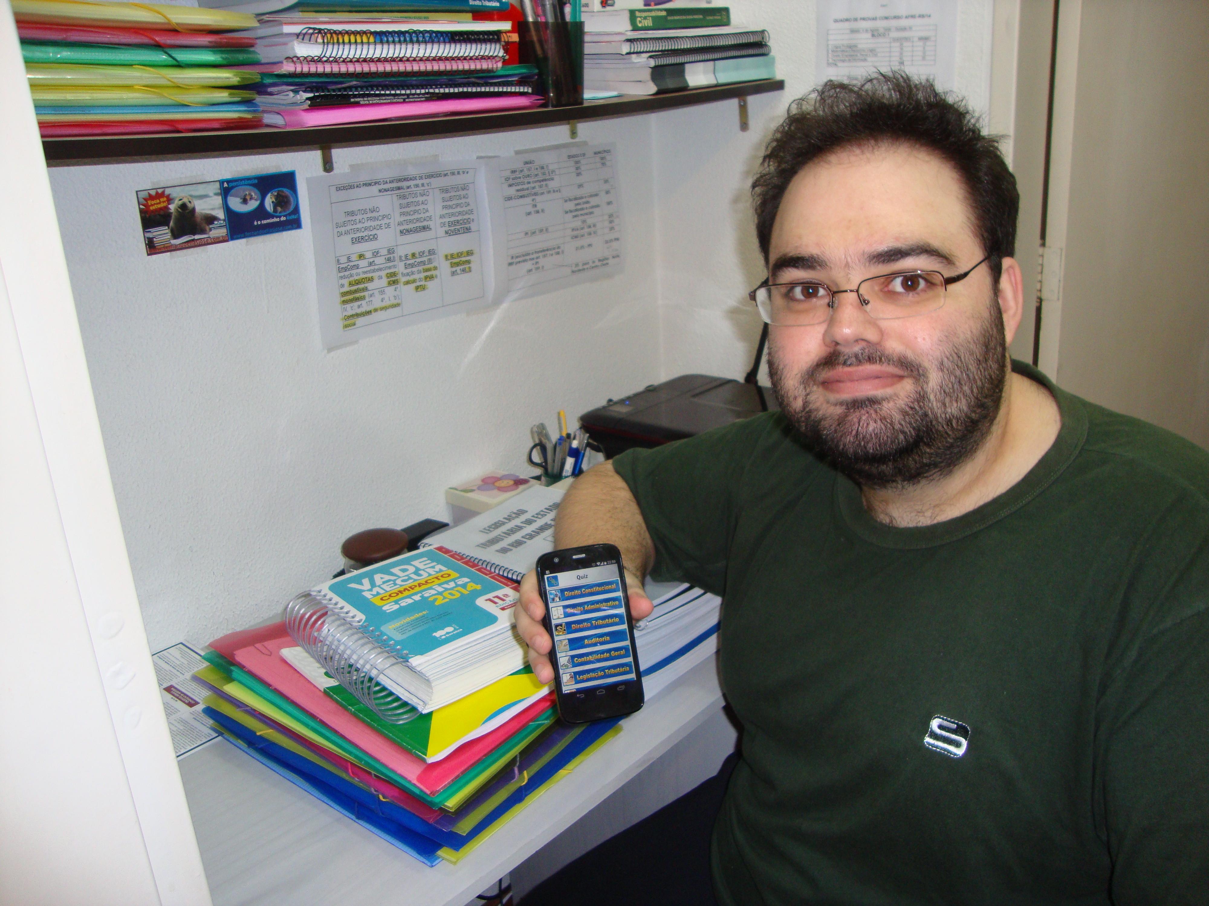 Rodrigo Sulzbach - Aprovado no concurso de Técnico Tributário da SEFAZ/RS 2014
