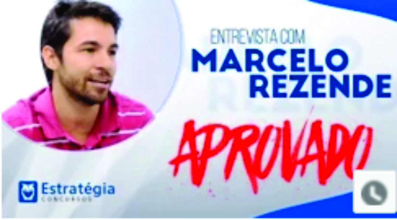 ENTREVISTA EM VÍDEO: Marcelo Bueno, aprovado no concurso MPOG para o cargo de Analista/TI