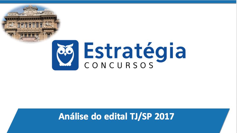 aulão TJ SP 2017