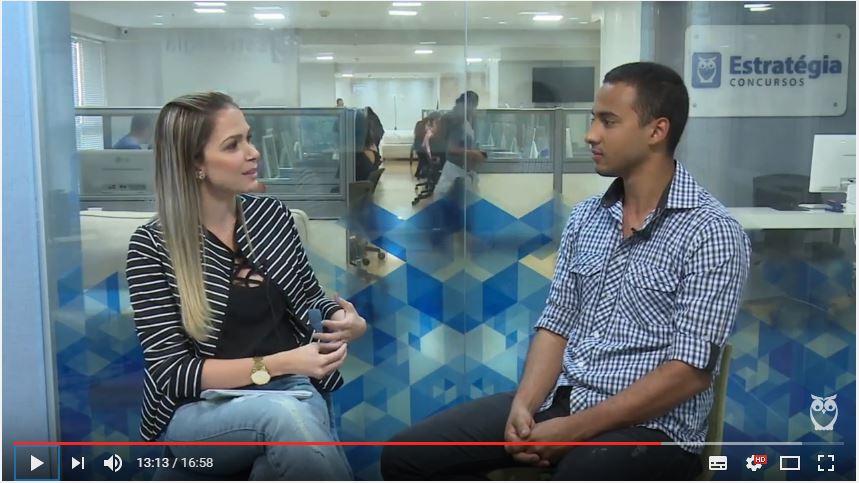 ENTREVISTA EM VÍDEO: Bernardo Dantas - Aprovado em 7º lugar (na primeira fase) no concurso PMDF para o cargo de Oficial