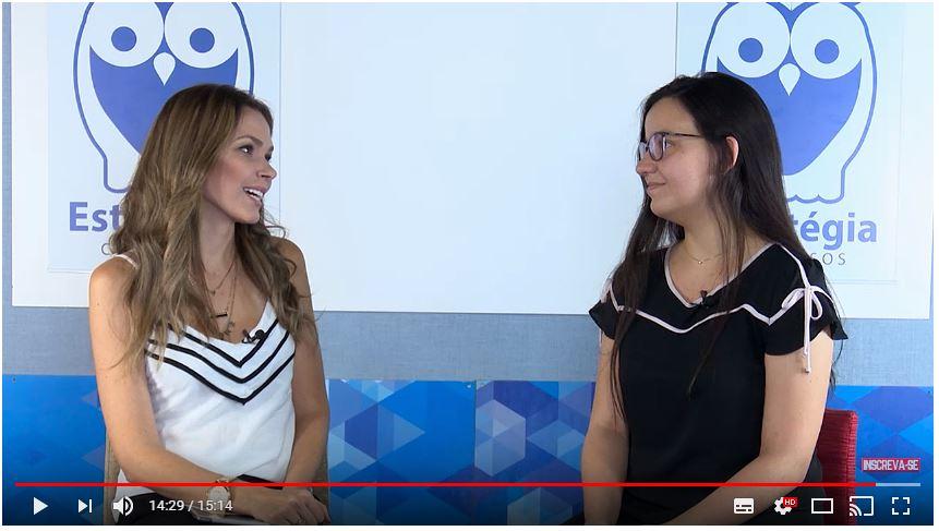ENTREVISTA EM VÍDEO: Marina de Lima - Aprovada em 2º lugar no concurso TJ SP para o cargo de Escrevente Técnico Judiciário (São Bernardo do Campo)