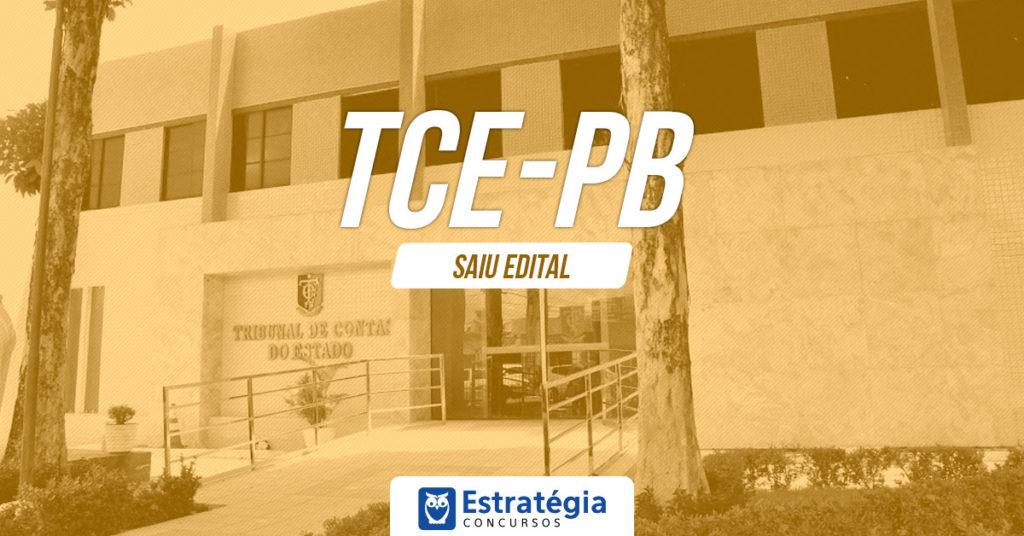 Concurso TCE PB