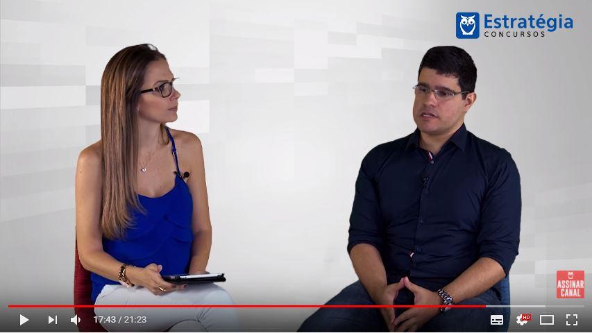 ENTREVISTA EM VÍDEO: Rafael Lira - Aprovado em 2º lugar no concurso TCE PE no cargo de Auditor de Controle Externo