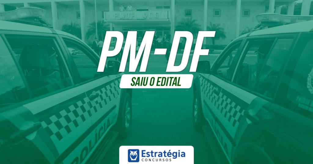 Concurso PM DF