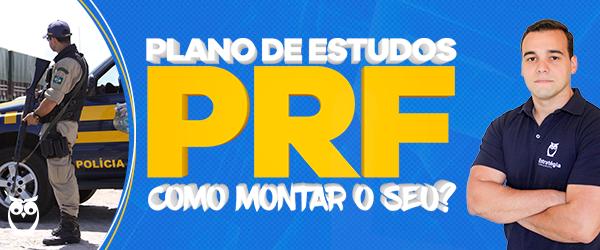 plano de estudos PRF