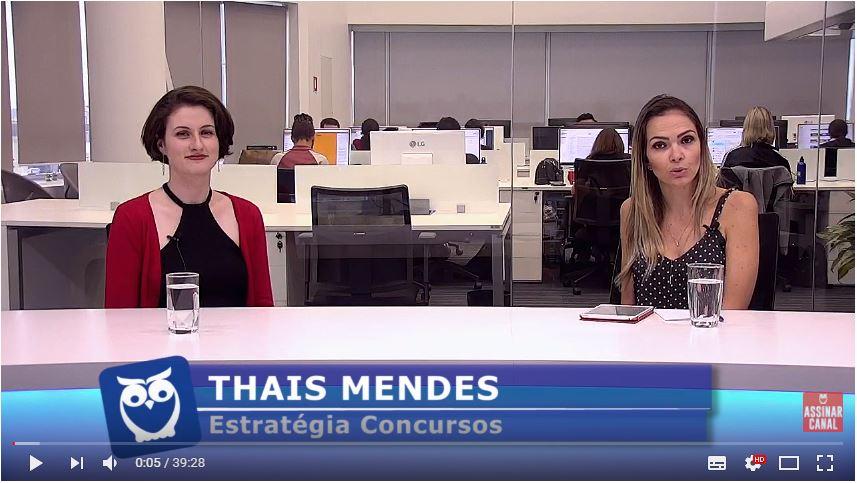 ENTREVISTA EM VÍDEO: Veridiane Paludo - Aprovada em 2º lugar no concurso CAGE-RS para o cargo de Auditor do Estado