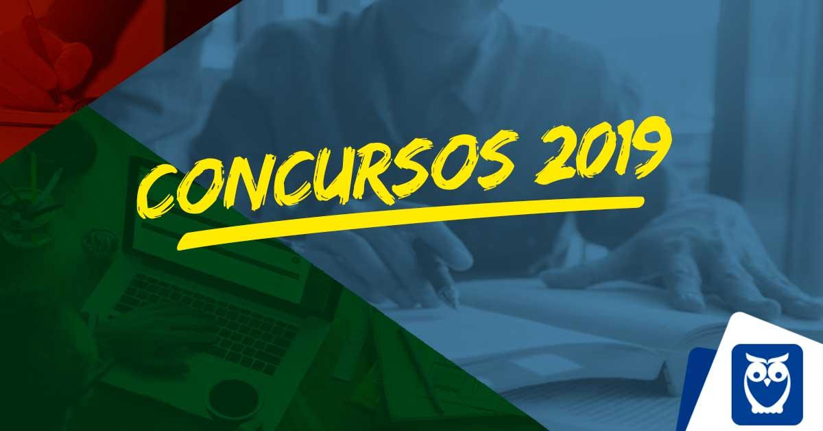 Concursos 2019: previstas mais de 50 mil; CONFIRA AS VAGAS
