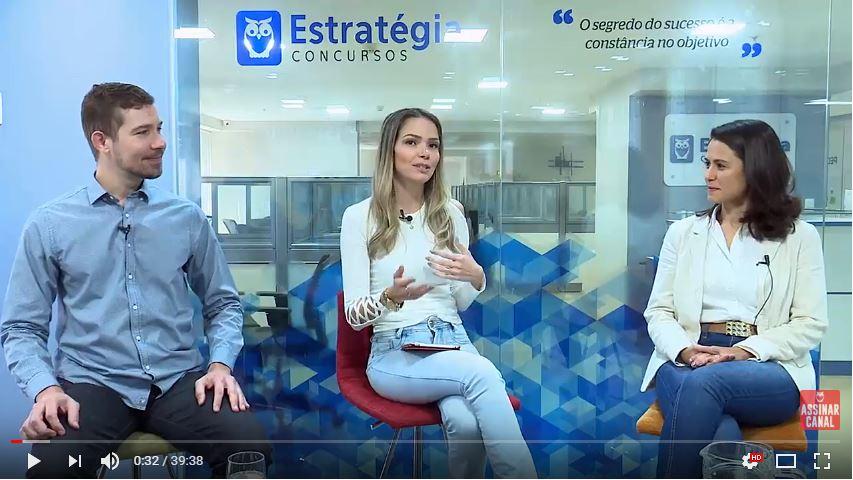 ENTREVISTA EM VÍDEO: Manuela Moura - Aprovada em 1º lugar no concurso EBSERH no cargo de psicóloga