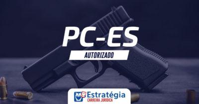 Concurso Delegado PC ES: governo anuncia novo certame com 33 vagas; remuneração inicial de R$ 10 mil