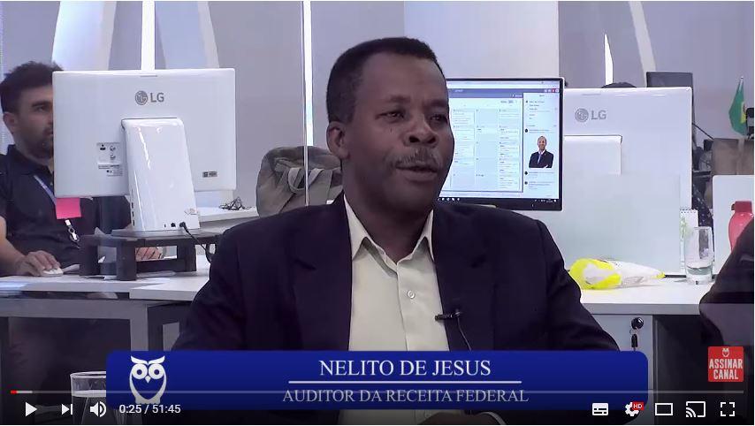 ENTREVISTA EM VÍDEO: De catador de papelão a AFRFB - Conheça a história de Nelito de Jesus