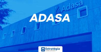 Concurso ADASA: após autorização, agência forma comissão organizadora e edital deve sair em até 180 dias