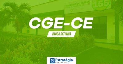 Concurso CGE CE: contrato com banca organizadora revela detalhes prévios do certame; são 25 vagas de Nível Superior