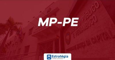 Concurso MP PE: publicação de edital atrasa, mas deve sair ainda este mês; mais um cargo pode ser ofertado