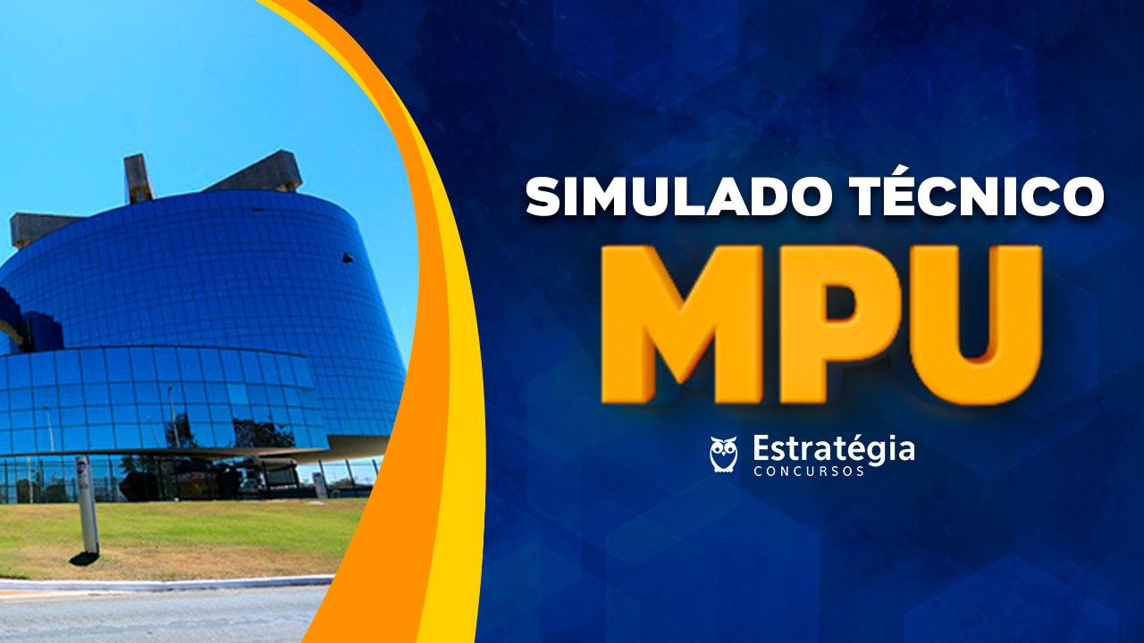 Simulado MPU: confira o gabarito e o ranking do simulado para o  cargo de técnico