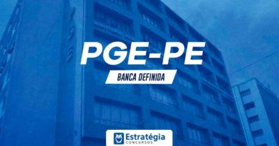 Concurso PGE PE: publicado extrato de contrato com banca organizadora de próximo certame; edital iminente