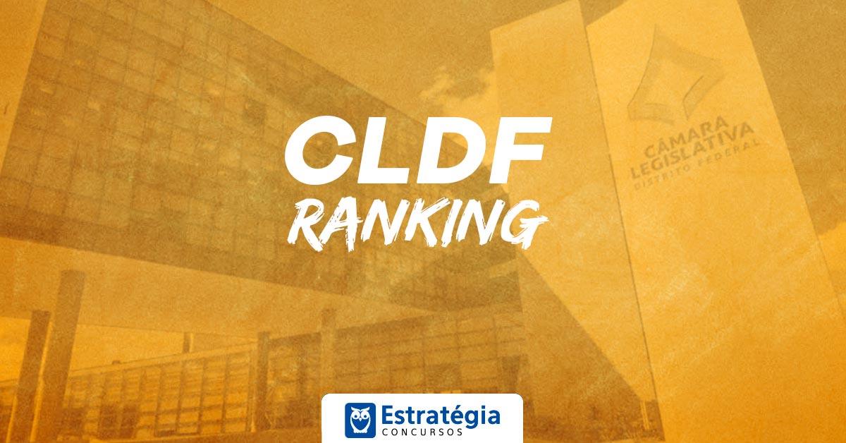 Ranking CLDF: Preencha seu gabarito e confira sua classificação no ranking para Técnico Legislativo