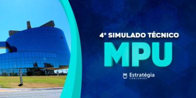 4º Simulado MPU - Técnico: confira agora sua classificação no ranking e o gabarito do simulado