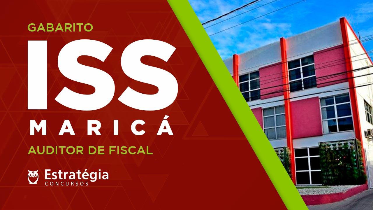 Gabarito Prefeitura de Maricá (Auditor Fiscal): Ranking e Correção da Prova ; acompanhe