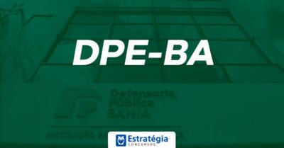 Concurso DPE BA: data da prova é adiantada; inscrições para 77 vagas estão abertas