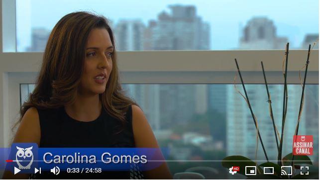 ENTREVISTA EM VÍDEO: Carolina Gomes - Aprovada no concurso da Polícia Federal (Provas objetiva, discursiva e TAF) em 19º lugar no cargo de Agente