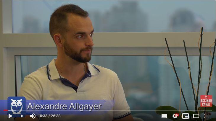 ENTREVISTA EM VÍDEO: Alexandre Allgayer - Aprovado no concurso da Polícia Federal (Provas objetiva, discursiva e TAF) em 3º lugar no cargo de Agente