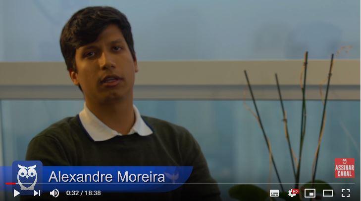 ENTREVISTA EM VÍDEO: Alexandre Magno Moreira - Aprovado no concurso da Polícia Federal (Provas objetiva, discursiva e TAF) em 42º lugar no cargo de Escrivão