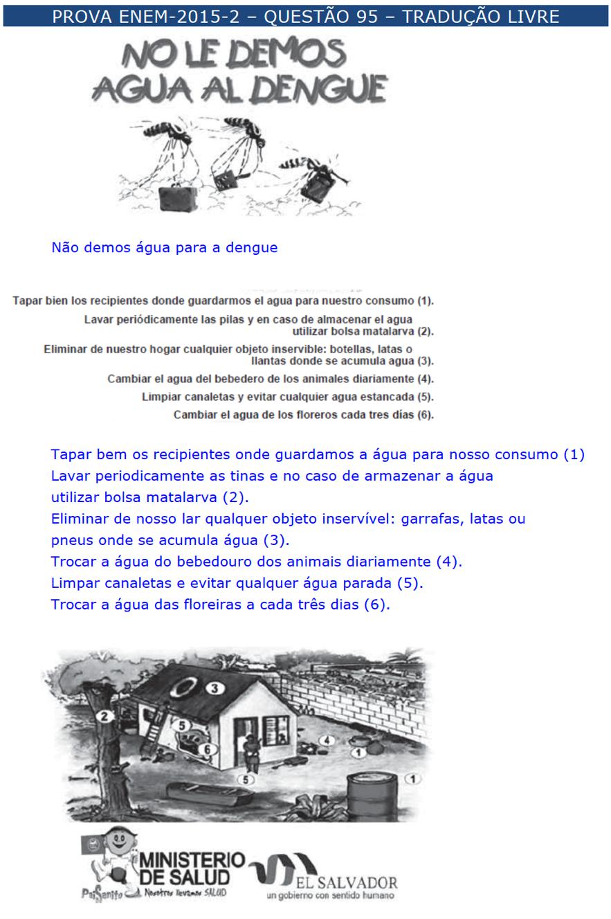 enem espanhol \u2013 questÕes \u2013 artigo 25 454097 Exercicios De Artigos Em Espanhol #21