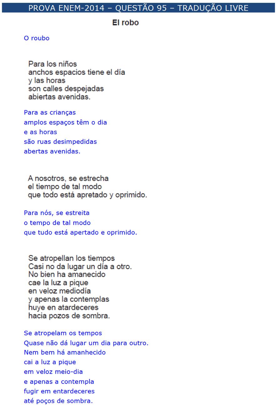 enem espanhol \u2013 questÕes \u2013 artigo 35 454097 Exercicios De Artigos Em Espanhol #10