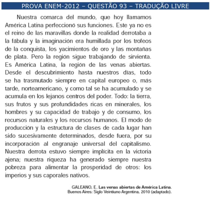 enem espanhol \u2013 questÕes \u2013 artigo 43 454097 Exercicios De Artigos Em Espanhol #9