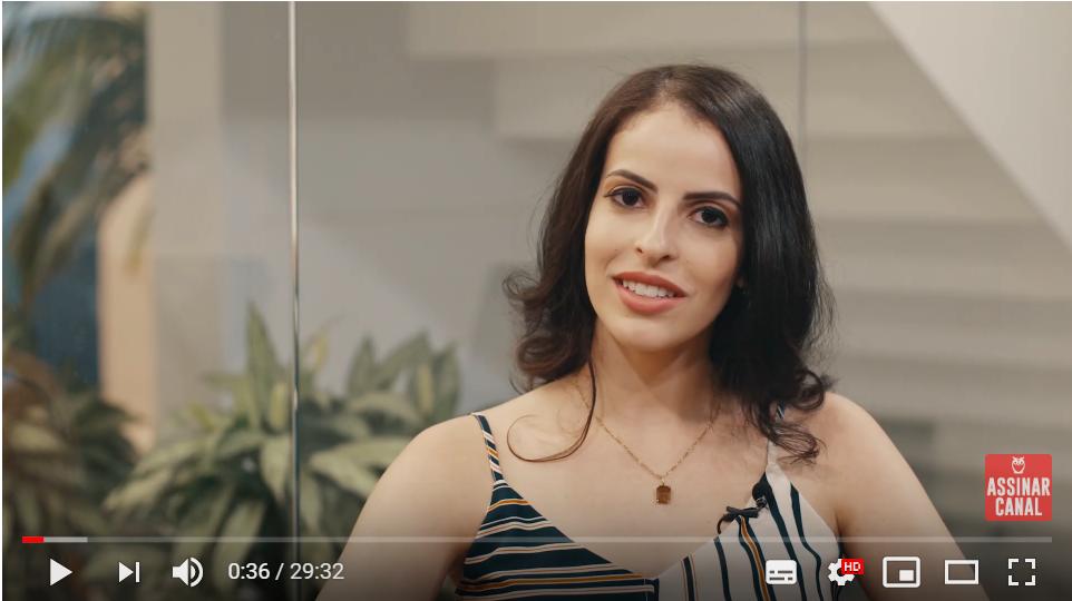 ENTREVISTA EM VÍDEO: Lorena Sousa – Aprovada em 2º lugar no concurso TCE MG no cargo de Analista de Controle Externo – Ciências Contábeis