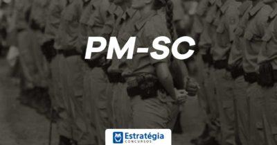 Concurso PM SC Soldado: escolha da banca inicia ainda este mês