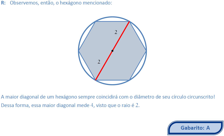 Resolução da questão 1 (questão 23 da prova Amarela da EAM)