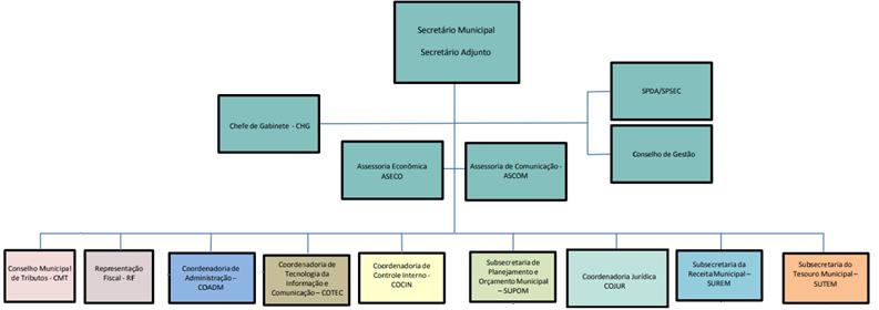 Estrutura organizacional - Concurso ISS SP