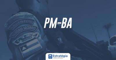 edital pm ba 2017 baixar