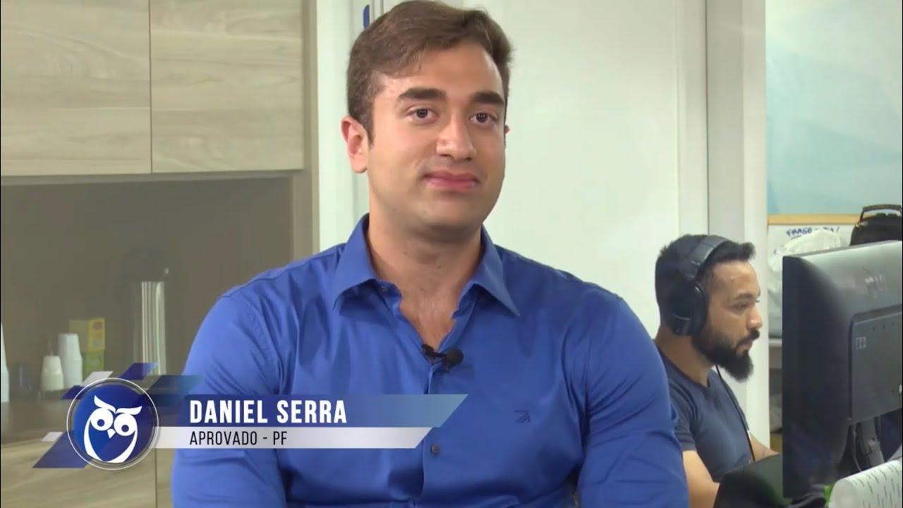 ENTREVISTA EM VÍDEO: Daniel Serra Mascarenhas - Aprovado no concurso da Polícia Federal para o cargo de Agente