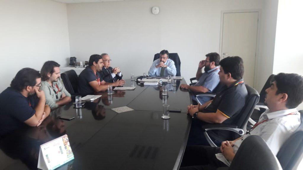 Concurso MP SE: Coordenadores do Sindicato de reúnem com PGJ