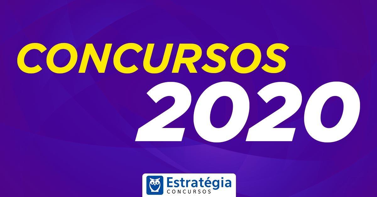Concursos 2020: Previsões ATUALIZADAS! Confira AQUI!