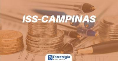 Concurso ISS Campinas é homologado para Auditor Fiscal